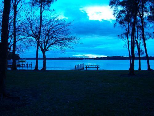 Sunset on Lake Macquarie NSW